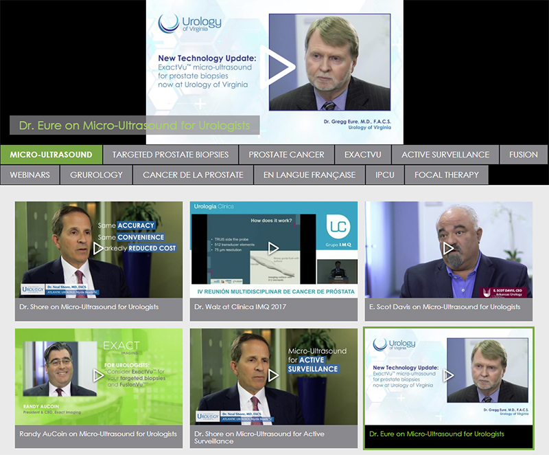 Videos-Urologists